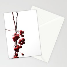 Like Red Balloons Floating in the Sky Stationery Cards