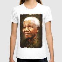mandela T-shirts featuring Mandela by Kimberley Britt