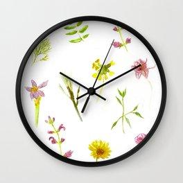 Herbs, Herbs! Wall Clock
