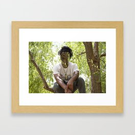 J.V. Framed Art Print