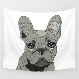 Frenchie Bulldog Puppy Wall Tapestry