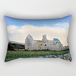 Corcomeroe Abbey Rectangular Pillow
