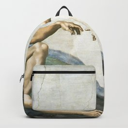 Michelangelo The Creation Of Adam Ultra HD Backpack