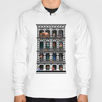 donkey kong Hoodies featuring Donkey Kong City by Ryan Huddle House of H
