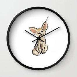 Cute little fox Wall Clock