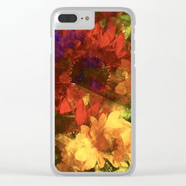 Sunflower 11 Clear iPhone Case