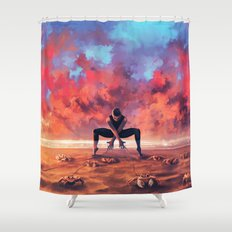 CANCER from the Dancing Zodiac Shower Curtain