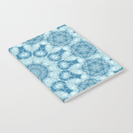 Beautiful blue sky mandala Notebook