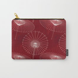 Japanese Umbrella pattern #6 Carry-All Pouch