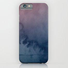 """Watercolor Smear"" Digital Art iPhone Case"