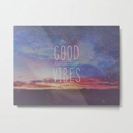 good vibes, good days Metal Print