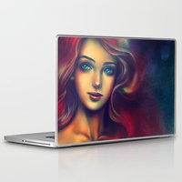 under the sea Laptop & iPad Skins featuring Under the Sea by Alice X. Zhang