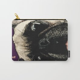 Pug Photo Bomb! Carry-All Pouch
