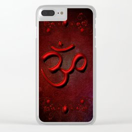The sign om Clear iPhone Case