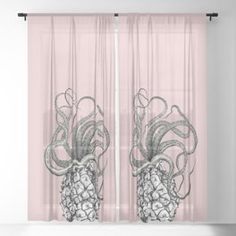 Anoctopus Sheer Curtain