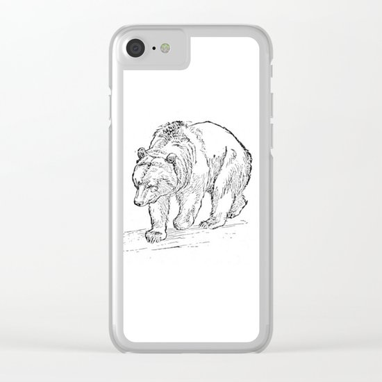 Bear Clear iPhone Case