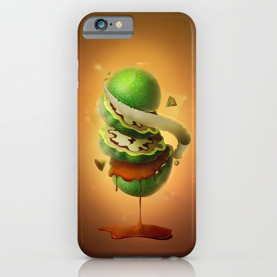 Sliced Green Wallnut iPhone & iPod Case