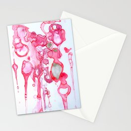Cellular Sparkle Stationery Cards