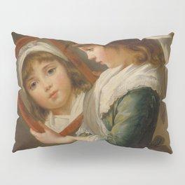 Elisabeth Louise Vigée Le Brun - Looking in a Mirror Pillow Sham