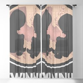 #Twinning Siblings Family Baby Womb Sheer Curtain