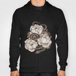 Snake and Peonies Hoody
