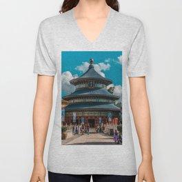 China Pavilion Unisex V-Neck