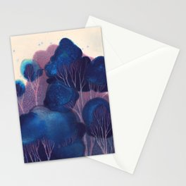 Blue Woodland Stationery Cards