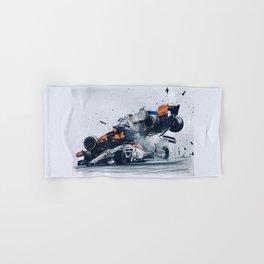 Formula One Crash Hand & Bath Towel