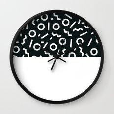 Memphis pattern 47 Wall Clock