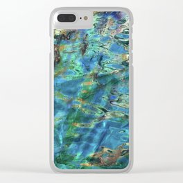 Deep End Clear iPhone Case