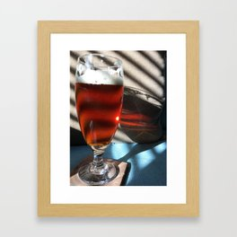 Beautiful Beer - Centennial IPA India Pale Ale Framed Art Print