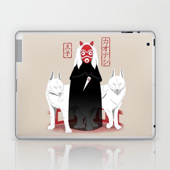 Ouji Kaonashi Laptop & iPad Skin