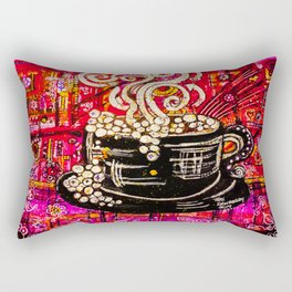 Coffee House Rectangular Pillow