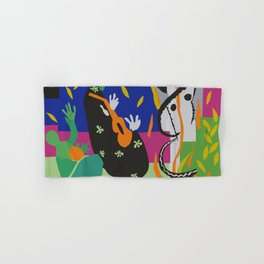 Matisse Cut Out Collage Hand & Bath Towel