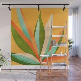 Summer Cactus Wall Mural