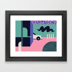 Creepster Framed Art Print