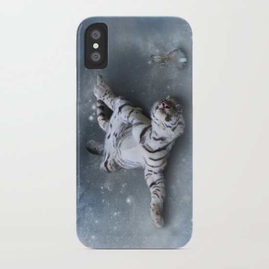 Tiger and Rabbit iPhone Case