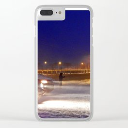 Storm Watch Clear iPhone Case