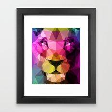 Wild Neon 01a. Framed Art Print