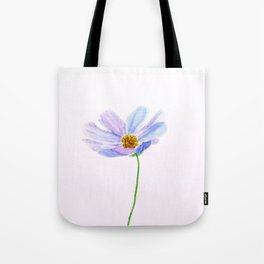 one purple cosmos Tote Bag
