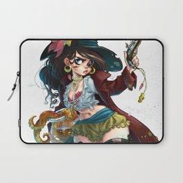 Pirate Mermaid Laptop Sleeve