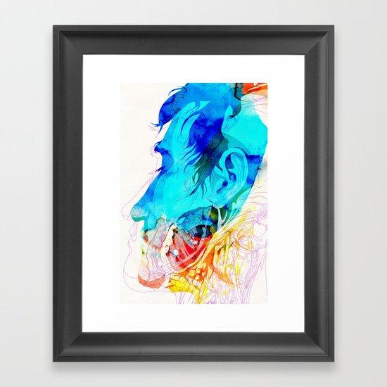 Anatomy Quain v2 Framed Art Print