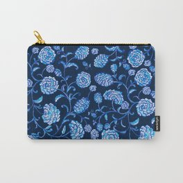Blue & White Florals by Fanitsa Petrou Carry-All Pouch