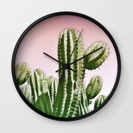 Wild Cactus from Desert Wall Clock