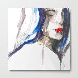 You made me forget ii Metal Print