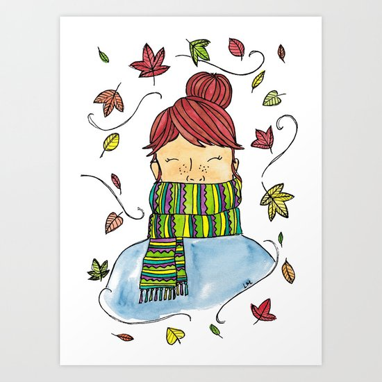 Autumn Girl by lauramax