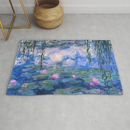 Water Lilies Monet Rug