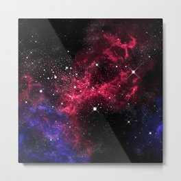 Orion Constellation Metal Print