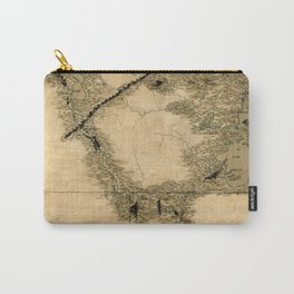 Map Of Quebec 1761 Carry-All Pouch