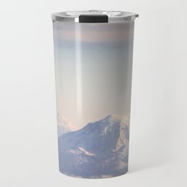 Mountain Peaks from Above Travel Mug